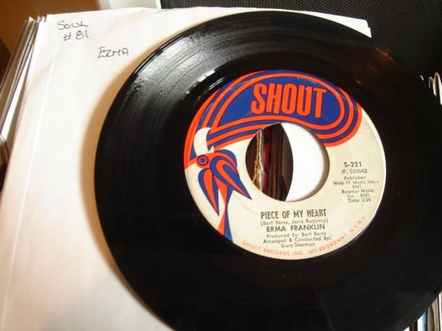 ERMA FRANKLIN - BABY WHAT YOU WANT - SHOUT - 81