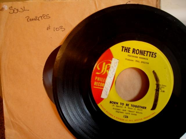 THE RONETTES - PHILLIES RECORDS 126 - 103