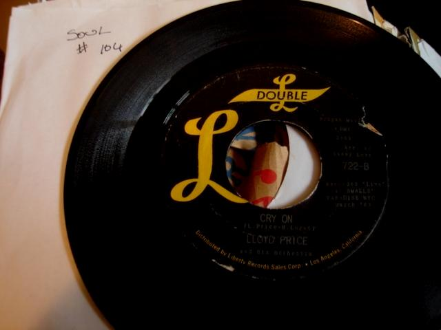 LLOYD PRICE - DOUBLE L RECORDS - 104