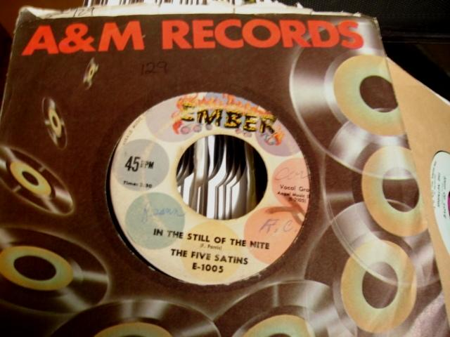 THE FIVE SATINS - EMBER - 129