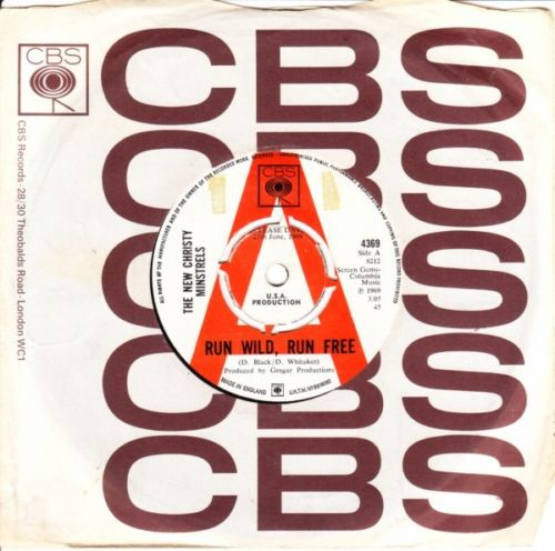 New Christy Minstrels - Run Wild - 1969 CBS Demo 3762