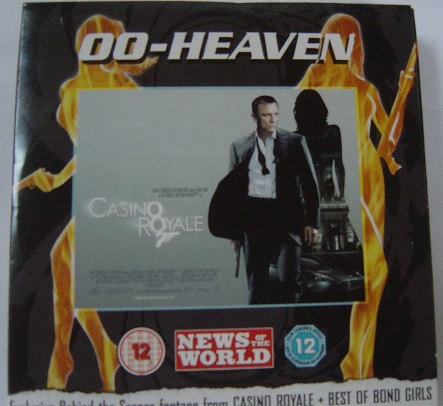 00 Heaven - Casino Royale - News of the World DVD
