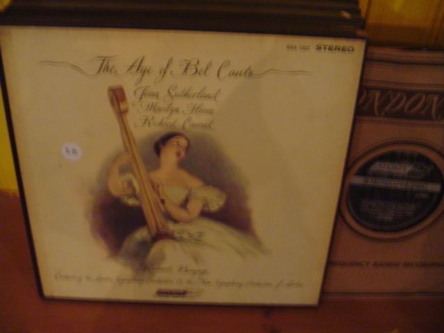 AGE OF BEL CANTO - BONYNGE Sutherland - London Set