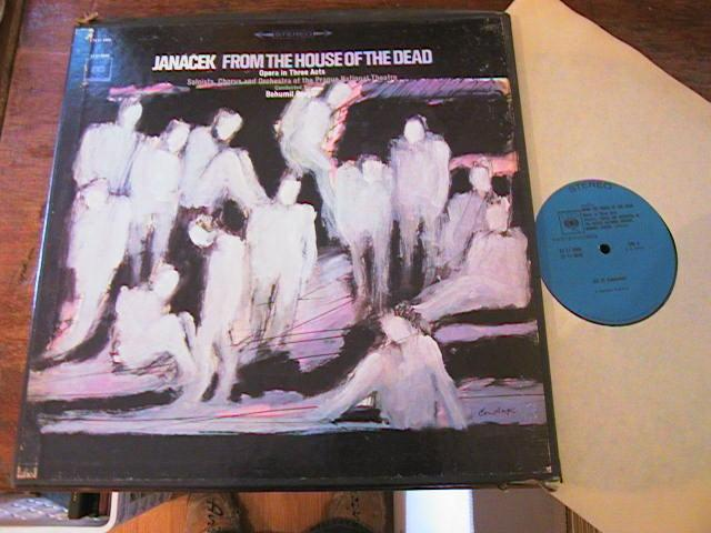 JANACEK - HOUSE OF THE DEAD - GREGOR - CBS { R 81
