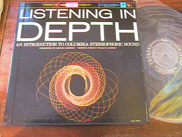 LISTENING IN DEPTH - COLUMBIA STEREO 6 EYE { R 100