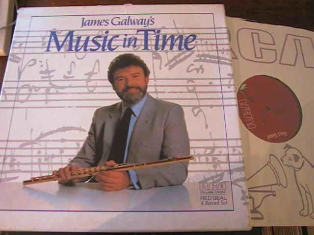 JAMES GALWAY - MUSIC IN TIME - RCA 4 LP { R 50