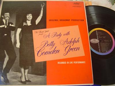BETTY COMDEN & ADOLPH GREEN - PARTY WITH - CAPITOL { 374