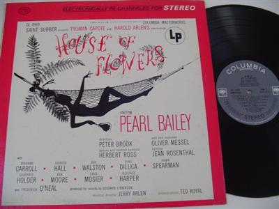 HOUSE OF FLOWERS - PEARL BAILEY - COLUMBIA { 327