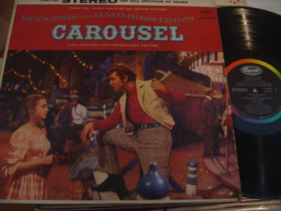 CAROUSEL - RODGERS & HAMMERSTEIN - CAPITOL { 276