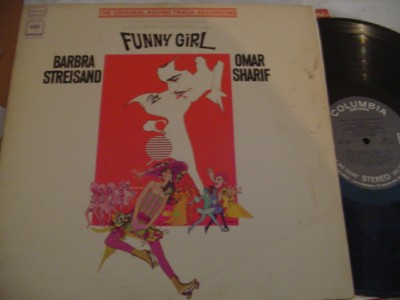 FUNNY GIRL - STREISAND & SHARIF - COLUMBIA 280 & 363