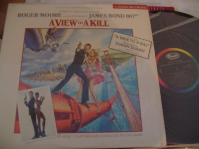 A VIEW TO A KILL - JAMES BOND - MGM SJ.12413 - 1985
