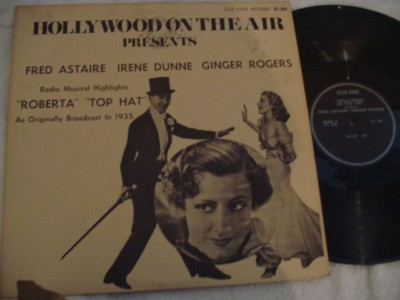 ROBERTA - TOP HAT - ASTAIR RODGERS - STAR TONE { 301