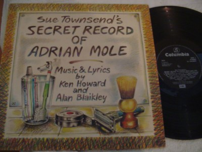 SECRET RECORD ADRIAN MOLE - COLUMBIA UK { 304