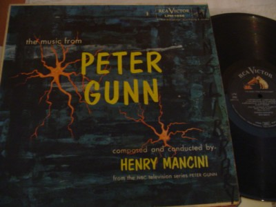 PETER GUNN - MANCINI - RCA 2nd press - RCA { 307