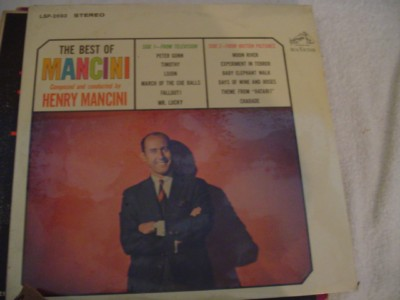 HENRY MANCINI - THE BEST OF - SEALED - RCA { 308