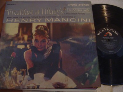 BREAKFAST AT TIFFANY'S - MANCINI - RCA { 312