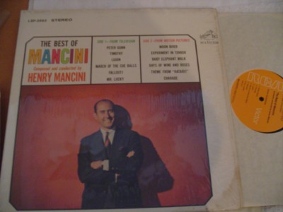 HENRY MANCINI - THE BEST OF -- RCA { 313