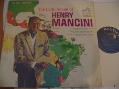 HENRY MANCINI - THE LATIN SOUND - RCA { 314