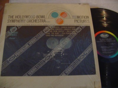 VARIOUS - HOLLYWOOD BOWL - MOTION PICTURES - CAPITOL { 321