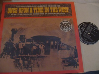 ONCE UPON TIME IN THE WEST - MORRICONE - RCA { 323