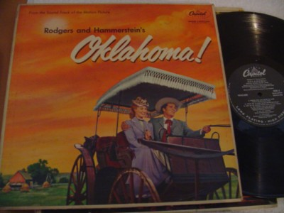 OKLAHOMA - RODGERS HAMMERSTEIN - CAPITOL { 328