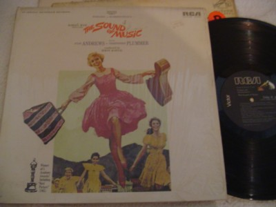 SOUND OF MUSIC - ANDREWS - RCA { 408