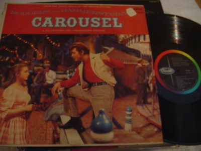 CAROUSEL - RODGERS & HAMMERSTEIN - CAPITOL { 391