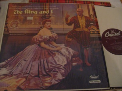 THE KING & I - KERR BRYNNER - CAPITOL { 354