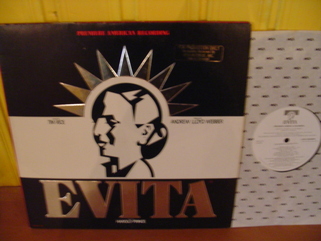 EVITA - LLOYD WEBBER & RICE - MCA RECORDS PROMO