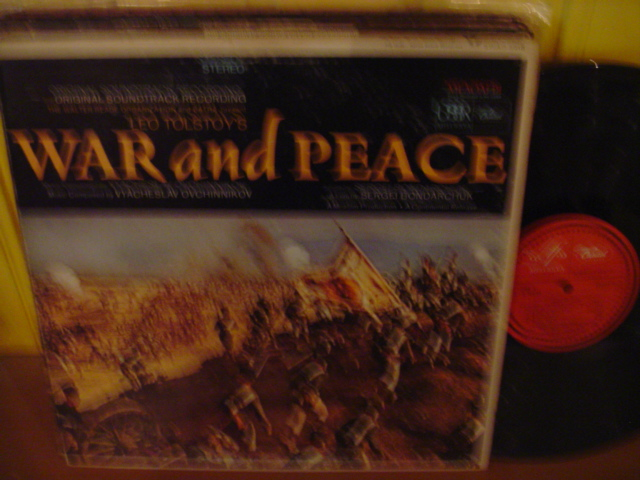 WAR and PEACE - MELODIYA / CAPITOL