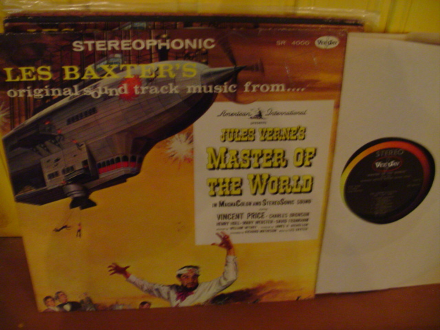 MASTERS OF THE WORLD - LES BAXTER