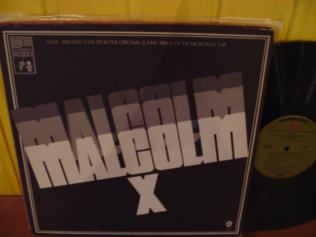 MALCOLM X - WARNER BROTHERS RECORDS