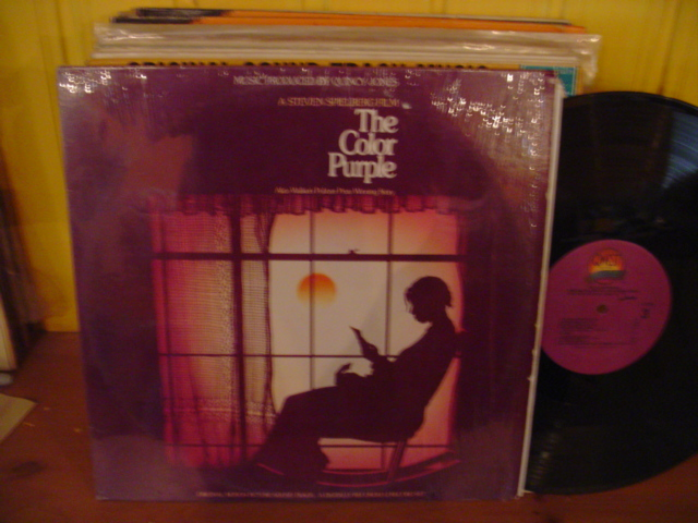 THE COLOR PURPLE - SPIELBERG - 2LP QWEST RECORDS