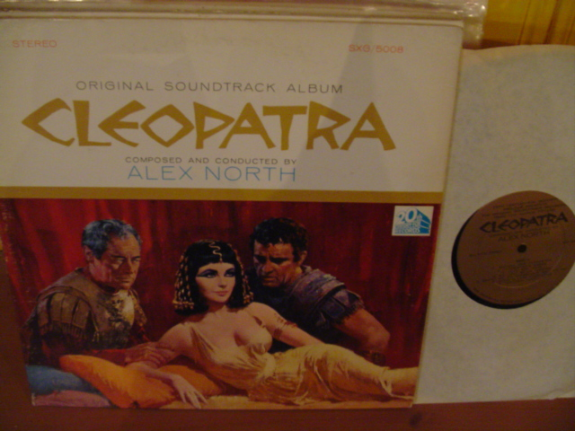 CLEOPATRA - ALEX NORTH - 20th FOX RECORDS