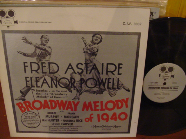 BROADWAY MELODY of 1940 - ASTAIR POWELL - CIF RECORDS