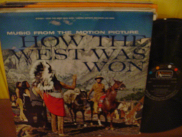 HOW THE WEST WAS WON - UA RECORDS