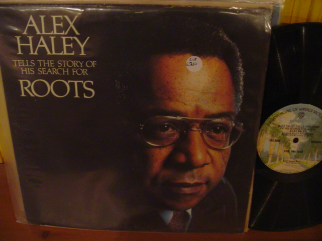 ROOTS - ALEX HALEY - 2LP SET - WARNER BROS