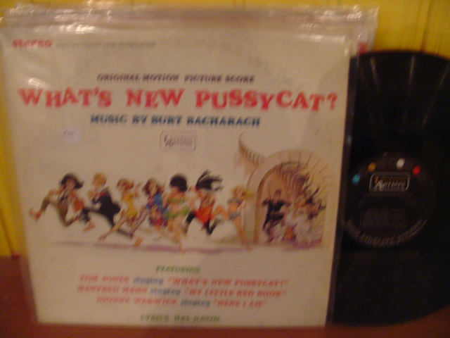 WHAT'S NEW PUSSYCAT - BACHARACH - UA