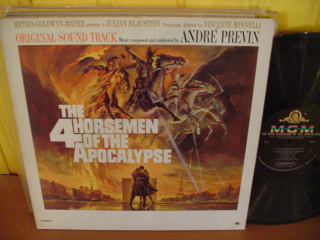 THE 4 HORSEMEN OF THE APOCALYPSE - ANDRE PREVIN - MGM