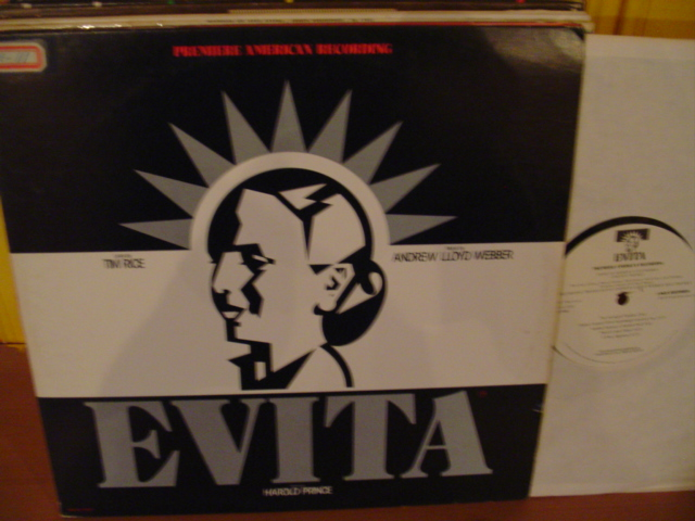 EVITA - LLOYD WEBBER & RICE - MCA RECORDS 2 LP SET