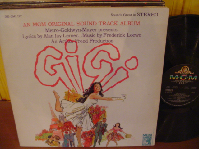 GIGI - MGM RECORDS