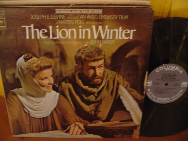THE LION IN WINTER - JOHN BARRY - COLUMBIA