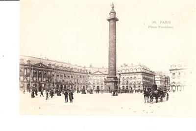 PARIS - PLACE VENDOME - UNUSED # 38