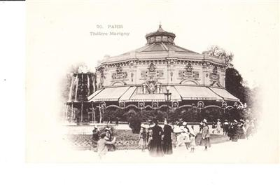 PARIS - THEATRE MARIGNY - UNUSED # 70
