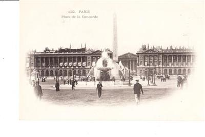 PARIS - PLACE DE LA CONCEODE - UNUSED # 122