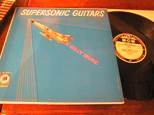BILLY MURE - SUPERSONIC GUITARS - MGM PROMO { PM 188