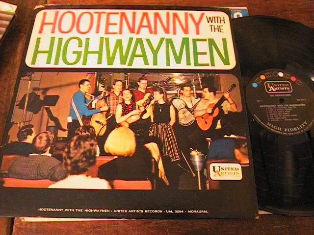 THE HIGHWAYMEN - HOOTENANNY - UNITED ARTISTS { PM 184