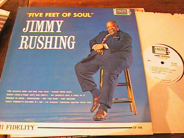 JIMMY RUSHING - FIVE FEET OF SOUL - COLPIX PROMO { PM 186