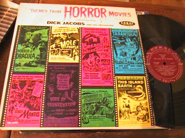DICK JACOBS - THEMES HORROR MOVIES - CORAL { PM 187