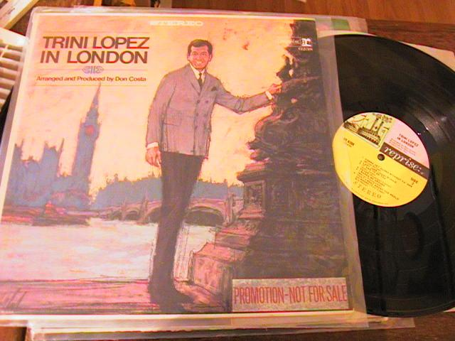 TRINI LOPEZ - IN LONDON - REPRISE PROMO { PM 194